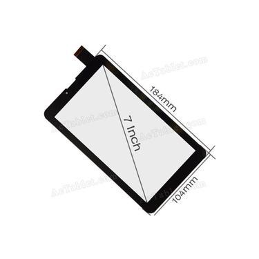 Imagem de touch Tela Toque Vidro Tablet Dl Tx-254 3g Dual Chip