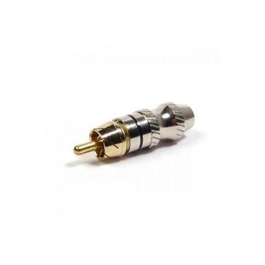 Plug RCA Metal com Anel Preto PGRC0028 STORM - PCT / 10