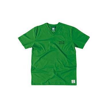 Camiseta 3 Verde Bandeira Masculina - Copa do Mundo da FIFA 2014 - FIFA