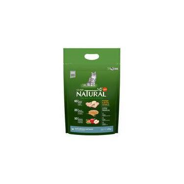 Ração Natural Guabi para Gatos Sênior Castrados sabor Frango e Arroz - 1,5kg