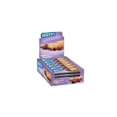 Barra de Cereais Nutry aveia com chocolate 22g com 24 unidad