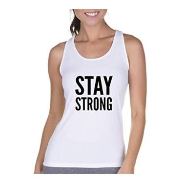 Regata Criativa Urbana Cavada Fitness Strong Branco GG