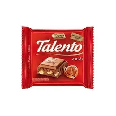 Chocolate Talento Avelãs Garoto 25g