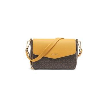 Bolsa Calvin Klein Ava Demi Signature Shoulder Bag