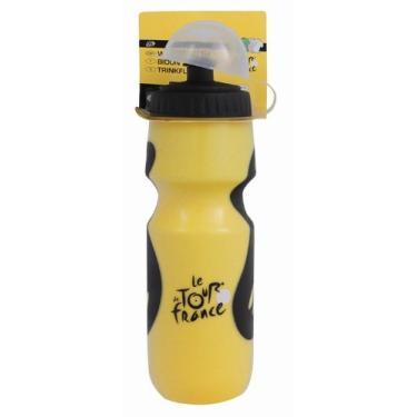 Garrafa de água de aderência Tour De France (amarelo/preto, 700 ml)