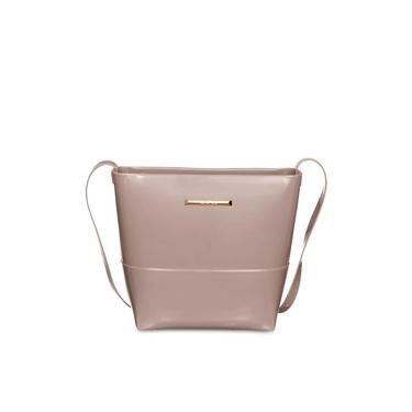 Bolsa Petite Jolie Feminina Easy Bag Express PJ10144 Taupe