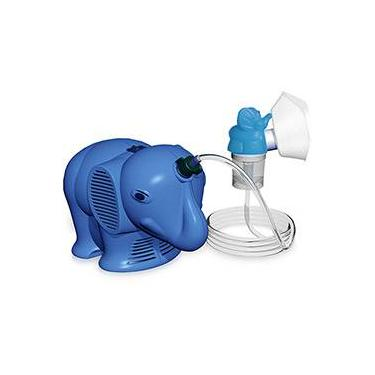 Inalador Infantil Inalafante Azul - NS Inaladores
