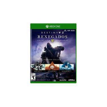Jogo Novo Destiny 2 Renegados Coleção Lendária Xbox One