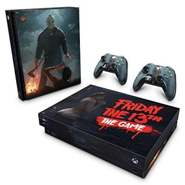 Skin Adesivo para Xbox One X - Friday The 13Th The Game - Sexta-Feira 13