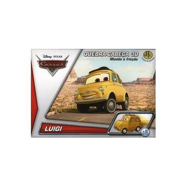 Imagem de Quebra Cabeca Luigi 3d Disney Cars Dtc