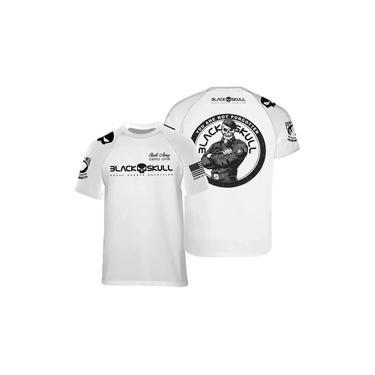 Camiseta Dry Fit - Black Skull (bope - Branco M)