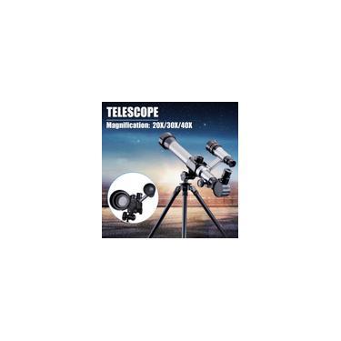 Imagem de 20/30 / 40X Espaço Profissional Telescópio Refrator Astronômico Visão Noturna HD Monocular Spotting Scope Telescope Kit Series