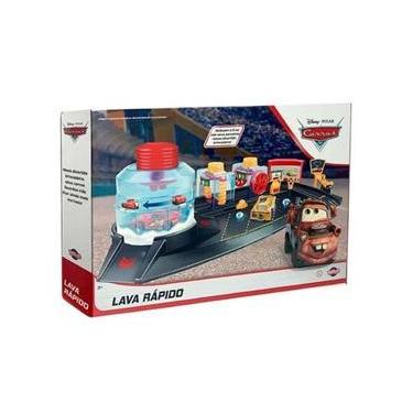 Imagem de Brinquedo Playset Disney Carros 3 Lava-rápido 6 Peças Toyng