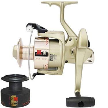 Molinete Pesca Marine Sports Xt 4000i 4 Rol + Carretel Extra