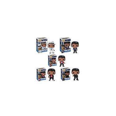 Imagem de Funko pop michael jackson Beat It Billie Jean bad SM00TH criminal Figuras Coleção Modelo Brinquedos para SH190910 presente aniversário das crianças