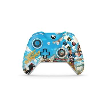 Skin Adesivo para Xbox One Slim X Controle - Sunset Overdrive