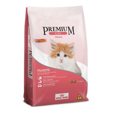Ração Royal Canin Premium Cat para Gatos Filhotes - 1 Kg