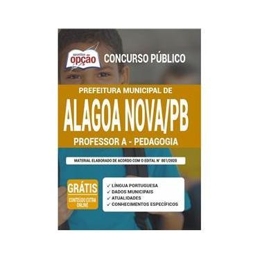 Imagem de Apostila Prefeitura Alagoa Nova Pb - Professor A - Pedagogia