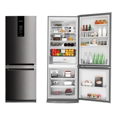 Imagem de Refrigerador / Geladeira Brastemp Frost Free, 2 Portas, 460L, Evox - BRE59AK