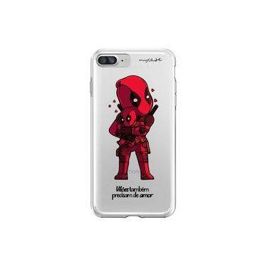 Capa para iPhone 8 Plus - Mycase   Vilões Precisam de Amor   DeadPool