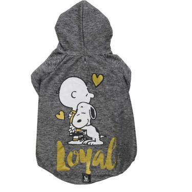 Moletom Zooz Pets Charlie Snoopy Loyal Grafite - Tam. G