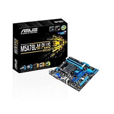 Placa-Mãe Asus M5A78L-M Plus/USB3 AMD AM3+ DDR3 Micro ATX, Asus, M5A78L-M PlusUSB, Preto