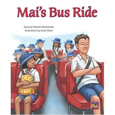 Rigby PM Collection: Bookroom Package Turquoise Level 17 Grade 2 Mai's Bus Ride
