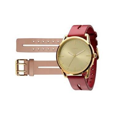 e48f8ff2001 Relógio Euro Feminino Analógico Edição Ilimitada Troca Pulseira EU2035LRA 2R