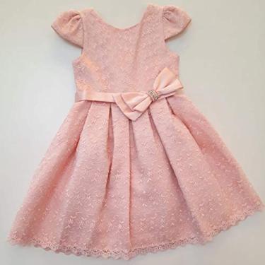 VESTIDO INFANTIL PETIT CHERIE FESTA 8437 ROSA RENDA (1)