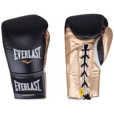 Luvas de Boxe Everlast Powerlock com Amarração - 16 OZ - Adulto Everlast Unissex