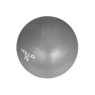 Bola Pilates Vollo Anti-Burst Res. 300Kg Com Bomba 75Cm