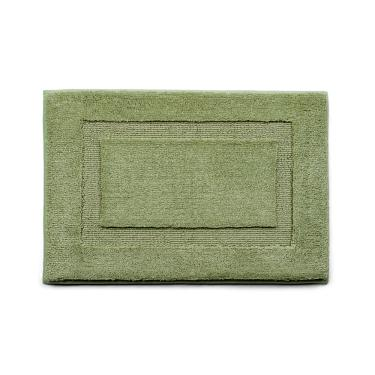 Imagem de Tapete De Banheiro Microfibra Base Antiderrapante Vizapi Comfort Memory 40X60cm Verde Vizapi