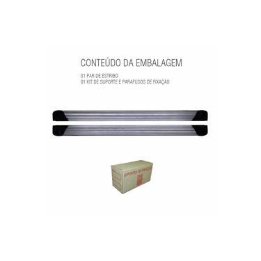 Estribo S-10 S10 2012 A 2017 Cabine Dupla Aluminio Prata - Prata