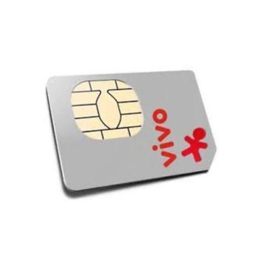 Chip Vivo 4g Pré-pago Para Qualquer Ddd