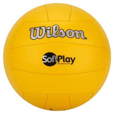 Bola de Vôlei Soft Play (Amarelo) - Wilson