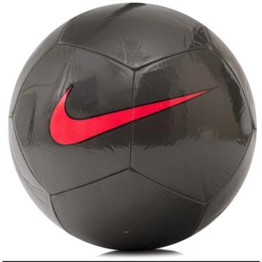Bola de Futebol de Campo Pitch Training Nike SC3101 - preto vermelho 50da51d450fd9