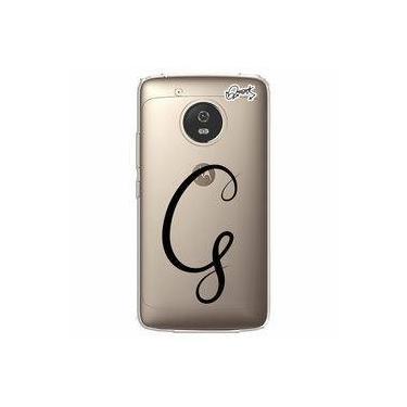 Capa Personalizada para Motorola Moto G5 - LETRA G - Quark