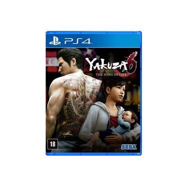 Game Yakuza 6: The Song Of Life - PS4