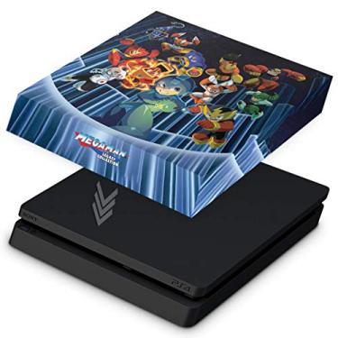 Capa Anti Poeira para PS4 Slim - Megaman Legacy Collection