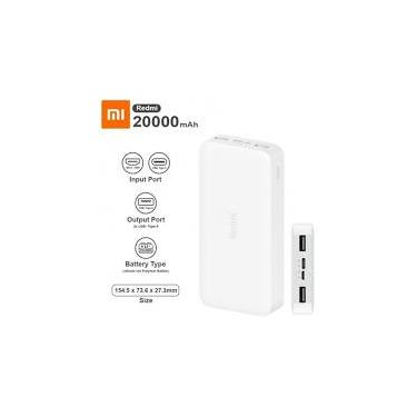 Carregador Portátil Xiaomi Powerbank 20000 m.a.h
