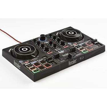 Controladora DJ Hercules DJControl Inpulse 200, Hercules, 4780882, Preta