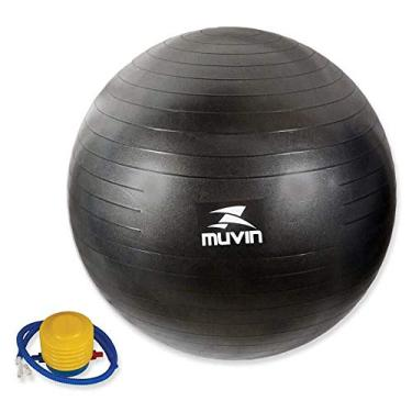 f9eea09ac006d Bola Pilates Fitball Com Bomba Muvin - 85cm - Preto