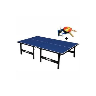 Imagem de Mesa de Tênis de Mesa Ping Pong Olimpic 1005 MDP 15mm com Kit Completo