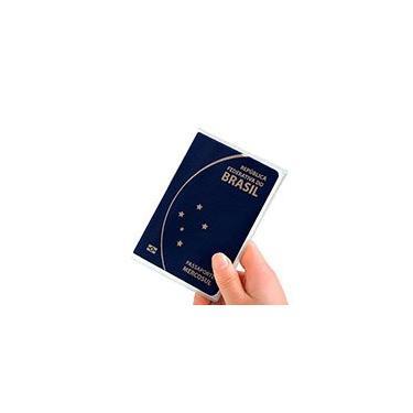 Capa p/ passaporte pvc 0,15 150x280mm transparente 3717 Plastpark PT 3 UN