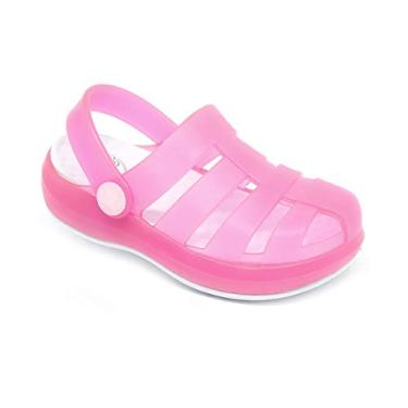 Babuche Sandália Plugt Pop Pink Translucido
