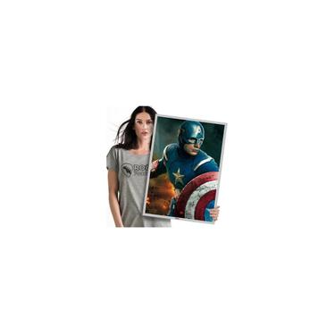 Imagem de Tema Festa Aniverssário Capitão América Hulk A2 60x42cm 01