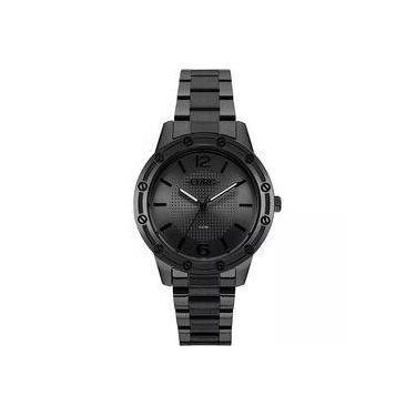 df61d61d253 Relógio Feminino Euro EU2035YNE 4P 40mm Aço Preto