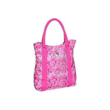 Totebag Fico Butterfly Scrapbook 736185C Rosa - Pacific