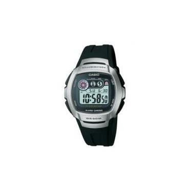 e6d3bf9a116 Relógio Masculino Casio Mundial W-210-1AV Digital - com Cronômetro  Resistente à Água