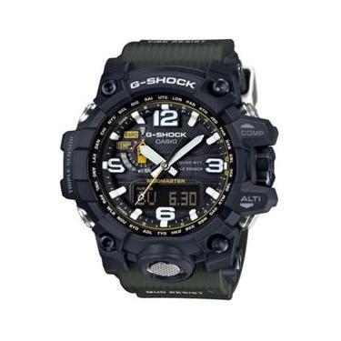 ad0f250fd35 Relógio Casio G-shock Mudmaster Solar Gwg1000gb-1a